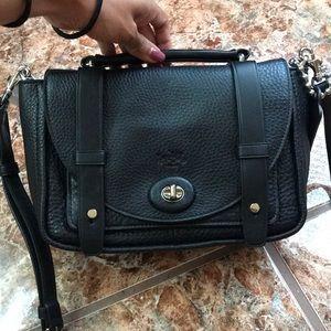 NWT Coach classic black satchel bag